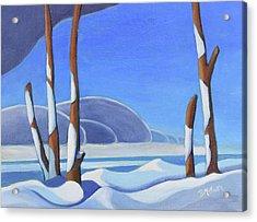 Winter Solace II Acrylic Print