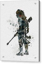 Winter Soldier Acrylic Print