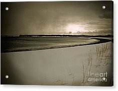 Acrylic Print featuring the photograph Winter Solitude by Alana Ranney