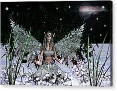 Winter Solstice Acrylic Print by Eva Thomas