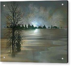 Winter Solstice Acrylic Print by Jean Gugliuzza