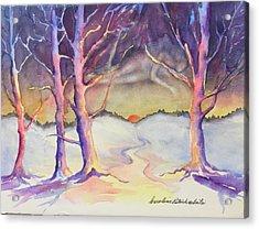 Winter Spirit  Acrylic Print