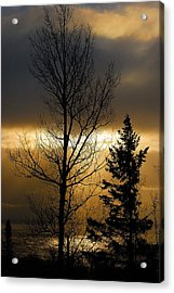 Winter Sunrise 2 Acrylic Print by Sebastian Musial