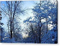 Winter Sunrise II Acrylic Print by Dimitri Meimaris