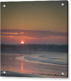 Winter Sunrise - Kennebunk Acrylic Print