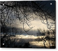 Winter Sunrise Acrylic Print by Liz Vernand