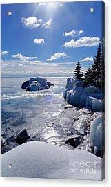 Winter Sunshine Acrylic Print