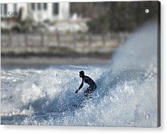 Winter Surf Acrylic Print