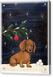 Winter Acrylic Print by Tammy Brown