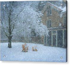Winter Tea At Queset House Acrylic Print
