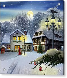 Winter Time ... Christmas Time Acrylic Print