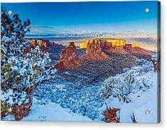 Winter Trails  Acrylic Print