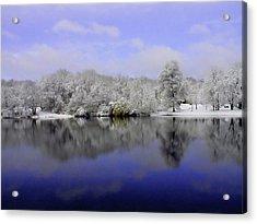 Winter View Acrylic Print by Karol Livote