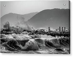 Winter Waves Acrylic Print