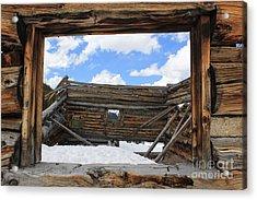 Winter Window 2 Acrylic Print