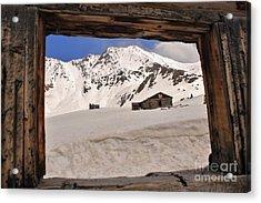 Winter Window View 2 Acrylic Print
