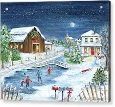 Winter Wonderland II Acrylic Print by Marilyn Dunlap