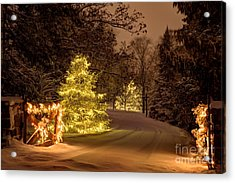 Winter Wonderland Minnesota Acrylic Print