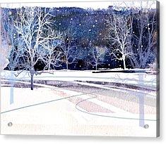 Winter Wonderland Acrylic Print by Paul Sachtleben