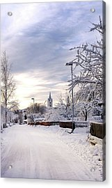 Winter Wonderland Redux Acrylic Print