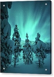 Winterland Acrylic Print by Tor-Ivar Naess