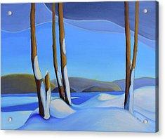 Winter's Calm Acrylic Print
