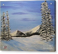Winters Chill Acrylic Print by Todd Androy