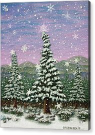 Winter's Eve 01 Acrylic Print