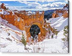 Winter's Gate Acrylic Print