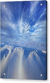 Acrylic Print featuring the photograph Winter's Hue by Phil Koch