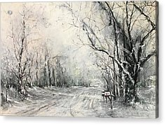 Dee Street Series Winter Wonderland Acrylic Print