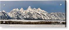 Winter's Majesty Acrylic Print