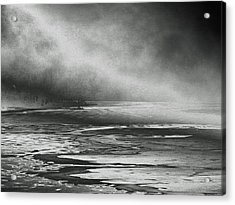 Acrylic Print featuring the photograph Winter's Song by Steven Huszar