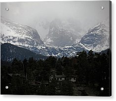 Winters Touch Acrylic Print