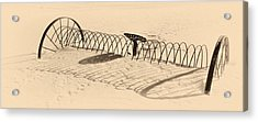 Winters Wait Acrylic Print by Ed Boudreau