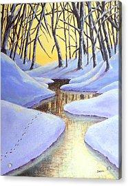 Winter's Warmth Acrylic Print