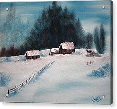 Winterscene Acrylic Print