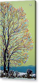 Wintertainment Tree Acrylic Print