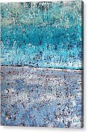 Wintry Mesa Acrylic Print