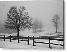 Wintry Morning Acrylic Print