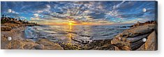 Wipeout Beach Acrylic Print by Peter Tellone