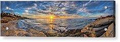 Wipeout Beach Acrylic Print