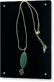 Wire Wrapped Pendant Acrylic Print