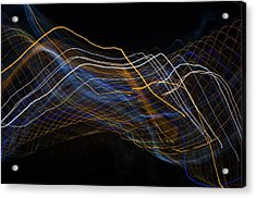 Wired Acrylic Print by Justin Pernas