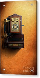 Wired To The Wall Acrylic Print by Bedros Awak