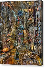 Wireless World Acrylic Print by Jeff Breiman
