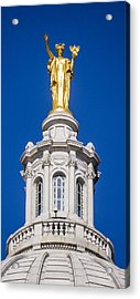 Wisconsin - Atop The Capitol, Madison  Acrylic Print