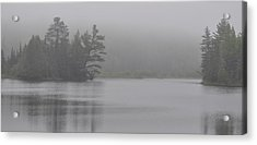 Wisconsin In Grey And Green Acrylic Print
