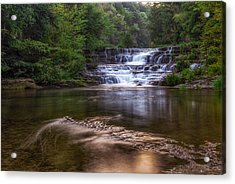 Acrylic Print featuring the photograph Wiscoy Falls by Mark Papke