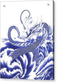 Wisdom Acrylic Print by Alice Chen